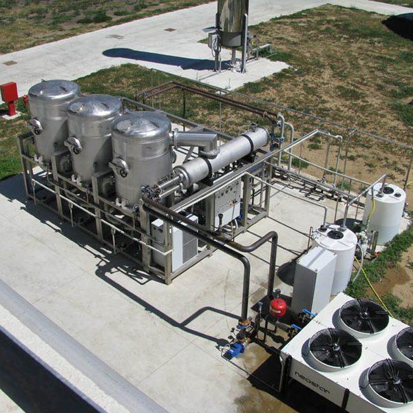 Formeco - evaporator WT 2800 HW-Cf 3E on biogas site 03_1