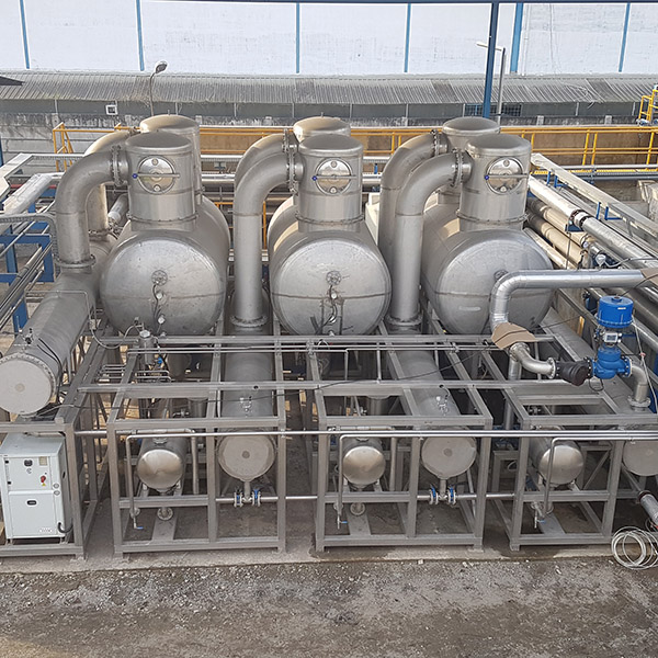 Formeco - evaporator WT 8500 HS-Cf 3E Superduplex on site_1